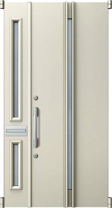 ファッションなデザイン 取替玄関ドア YKKAP玄関 デュガードMD型[DH=23用] リフォーム玄関ドア 親子[ポスト付]:05型[親扉幅:891mm・子扉幅:288mm×ドア高:2325mm]:ノース&ウエスト-木材・建築資材・設備