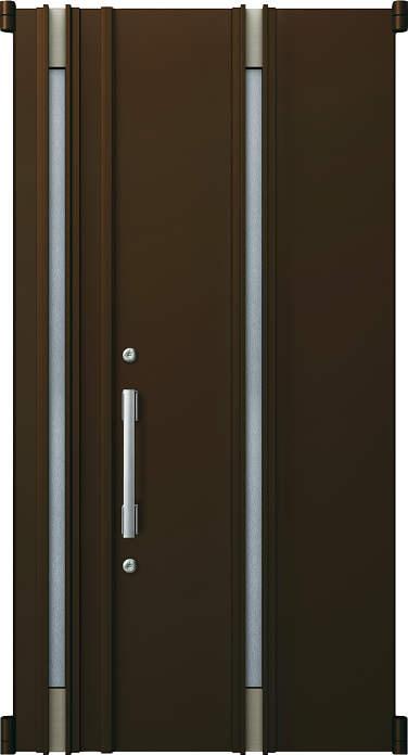 YKKAP玄関 リフォーム玄関ドア 取替玄関ドア デュガードMD型[DH=23用] 親子[ポスト無]:05型[親扉幅:891mm・子扉幅:288mm×ドア高:2325mm]