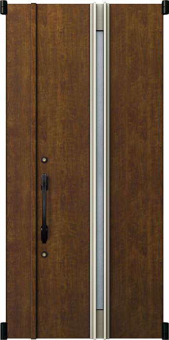 人気ブランドを 親子(入隅):05型[親扉幅:891mm・子扉幅:188mm×ドア高:2325mm]:ノース&ウエスト デュガードMD型[DH=23用] リフォーム玄関ドア YKKAP玄関 取替玄関ドア-木材・建築資材・設備