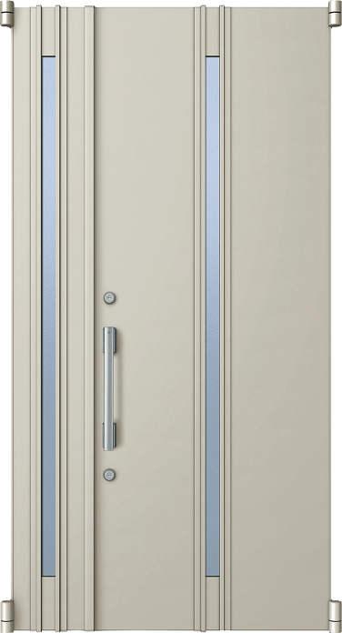 YKKAP玄関 リフォーム玄関ドア 取替玄関ドア デュガードMD型[DH=20用] 親子[ポスト無]:05型[親扉幅:891mm・子扉幅:288mm×ドア高:2000mm]