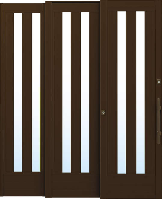 YKKAP玄関 リフォーム玄関引戸 取替玄関引戸 れん樹[ZUTTO用] P01:[枠内法幅1640mm×枠内法高1980mm]