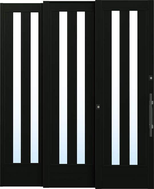 YKKAP玄関 リフォーム玄関引戸 取替玄関引戸 れん樹[ZUTTO用] P01:[枠内法幅1820mm×枠内法高1980mm]