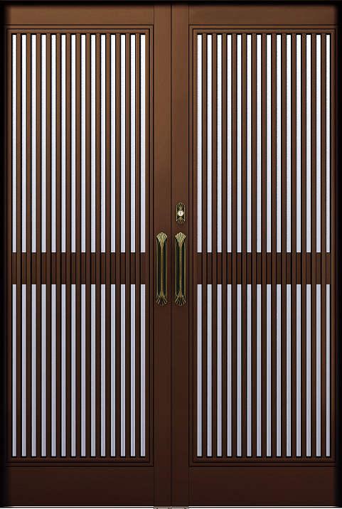 YKKAP玄関 リフォーム玄関引戸 取替玄関引戸 れん樹[和華用] P301:[枠内法幅2600mm×枠内法高1900mm]