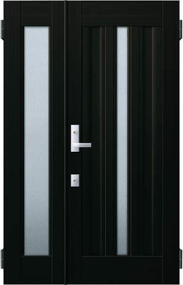 YKKAP玄関 リフォーム玄関ドア 取替玄関ドア アミティII用 親子:S03型 親ドア本体幅:754mm×高さ:1900mm 子ドア本体幅:414mm×高さ:1900mm