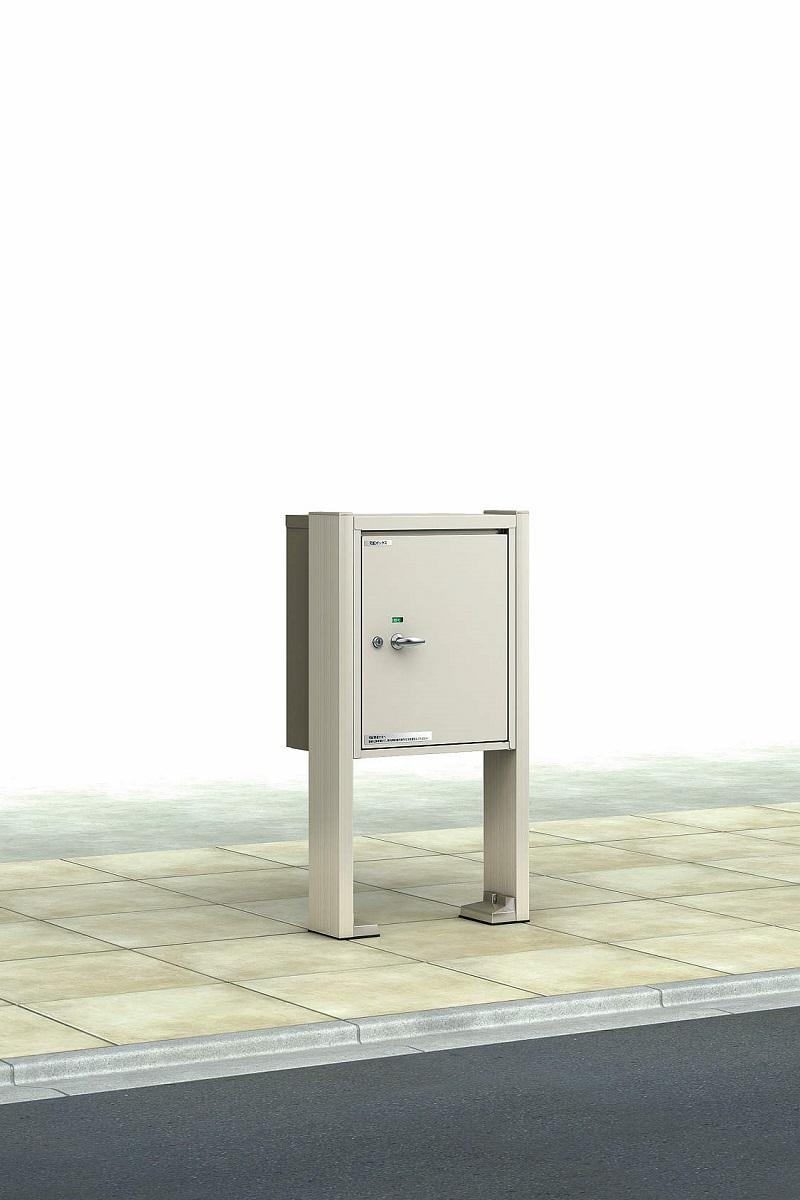 YKKAPガーデンエクステリア 門まわり ポスト ポスティモ 宅配ボックス1型:宅配ボックス1段用 乾式用