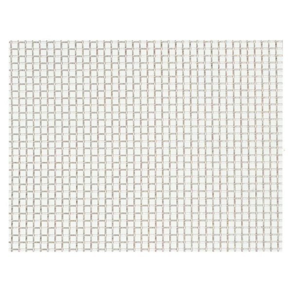 産業用金網 ステンレス平織金網 線径0.37mm:12メッシュ 開目1.75mm[幅1m×長さ8m]【ステンレス】【金網】