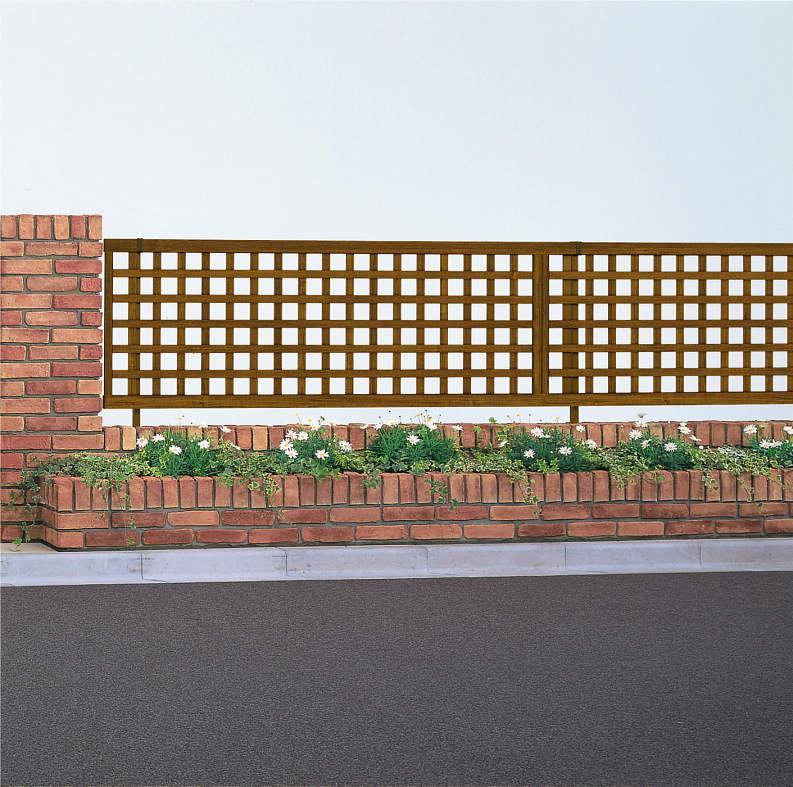 YKKAPガーデンエクステリア フェンス スタンダード 1型本体:T60[幅1975mm×高600mm]【YKK】【YKKフェンス】【アルミフェンス】【境界】【仕切り】【柵】【ガーデン】【花壇】【ガーデニング】