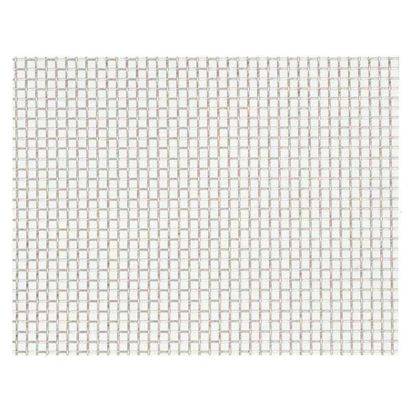 産業用金網 ステンレス平織金網 線径0.34mm:12メッシュ 開目1.78mm[幅1m×長さ2m]【ステンレス】【金網】