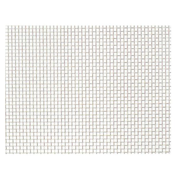 産業用金網 ステンレス平織金網 線径0.29mm:32メッシュ 開目0.5mm[幅1m×長さ5m]【ステンレス】【金網】