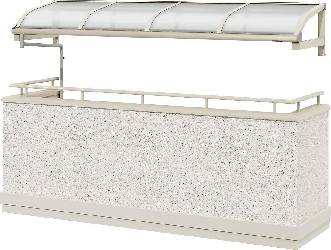 輝く高品質な 1500N/[アール型][メーターモジュール] 四尺[奥行:1170mm]:単体タイプ[幅1000mm]【YKK】【持ち出し屋根】【ソラリア】【屋根】:ノース&ウエスト YKKAPウォールエクステリア 持ち出し屋根ソラリア テラス屋根-木材・建築資材・設備