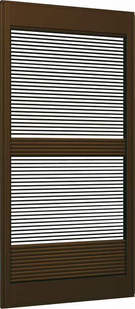 YKKAP窓サッシ 雨戸 リフォーム雨戸 通風雨戸XRA用 通風タイプ:テラスタイプ[幅600~986mm×高1642~2141mm]