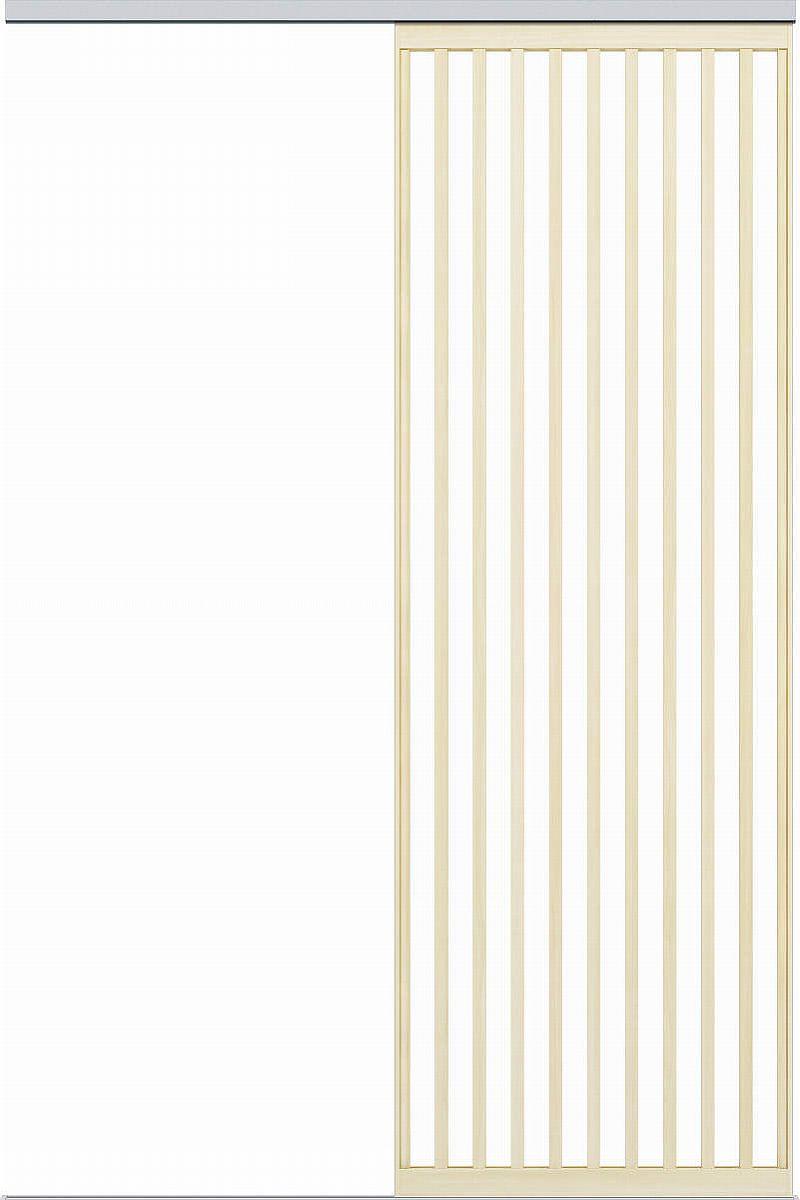 YKKAPアルミインテリア スクリーンパーティション[間仕切] 片引き戸(アルミ枠) Jタイプ:[幅1175~1754mm×高1550~2142mm]