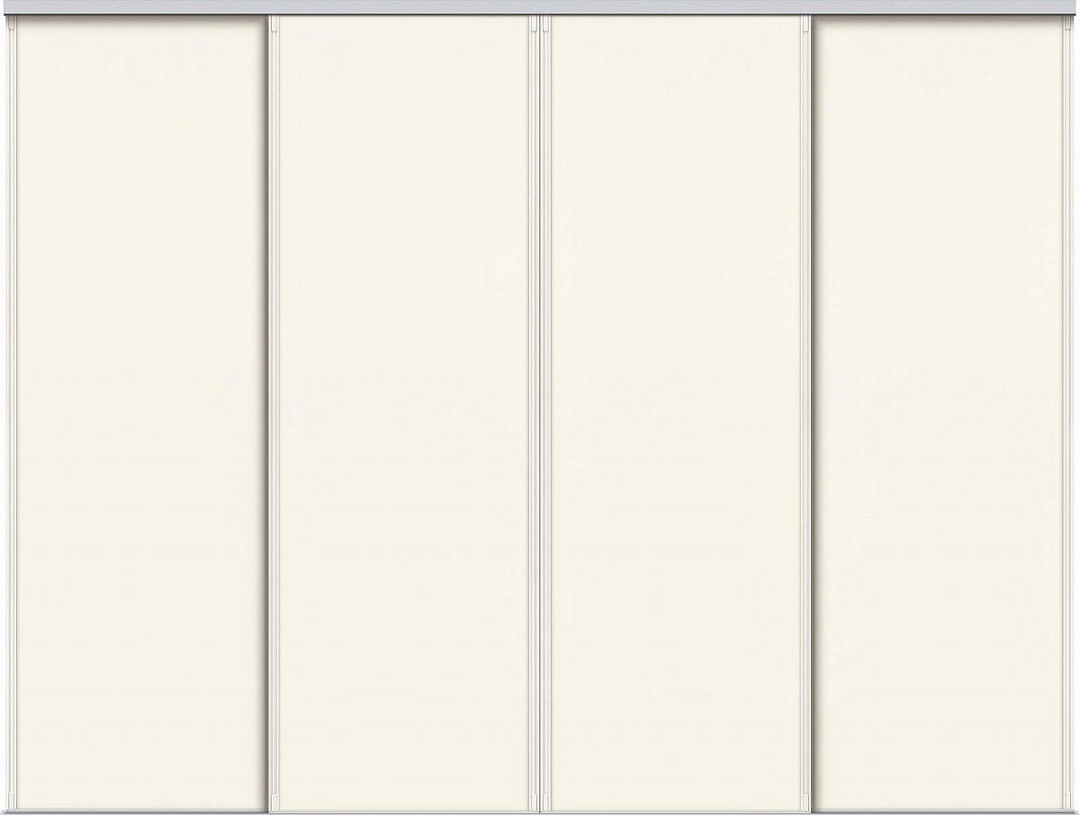 YKKAPアルミインテリア スクリーンパーティション[間仕切] 引違い4枚建(アルミ枠) P8タイプ:[幅3509~4000mm×高1550~2142mm]【YKK】【室内インテリア】【サッシ】【引き違い】【室内引き戸】【パーテーション】【パーテイション】【アルミ建具】【バリアフリー】