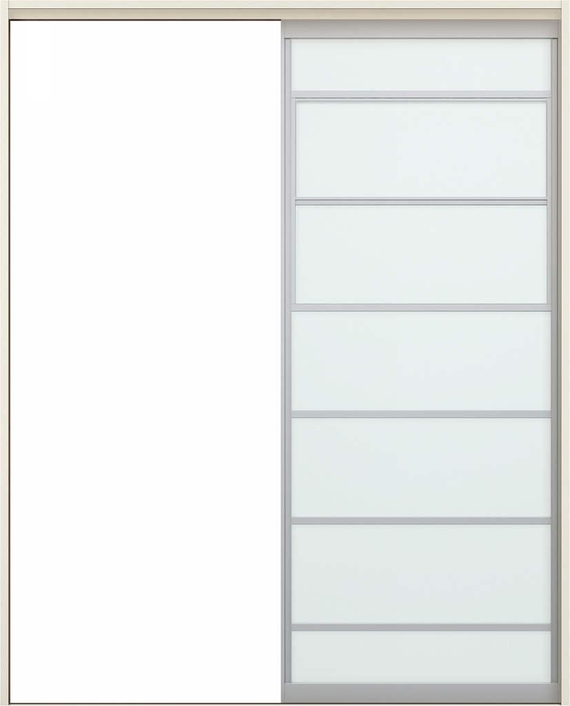 YKKAPアルミインテリア スクリーンパーティション[室内引戸] 片引き戸(木質枠) Uタイプ ノンケーシング枠[集合住宅向け]:[幅1188~2215mm×高1658~2458mm]【YKK】【YKKパーティション】【YKKパーテーション】【パーテーション】【アルミパーティション】【アルミ引き戸