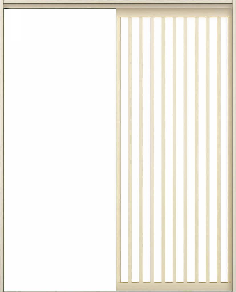 YKKAPアルミインテリア スクリーンパーティション[室内引戸] 片引き戸(木質枠) Jタイプ ケーシング枠:[幅1188~2215mm×高1658~2458mm]