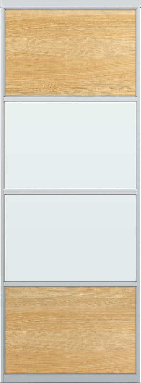 YKKAPアルミインテリア スクリーンパーティション[間仕切] 固定タイプスクリーンデザイン(アルミ枠) 1枚パネル Cタイプ:[幅500~896mm×高1550~2142mm]【YKK】【室内インテリア】【サッシ】【パーテーション】【パーテイション】【固定間仕切り】【アルミ間仕切】【縦