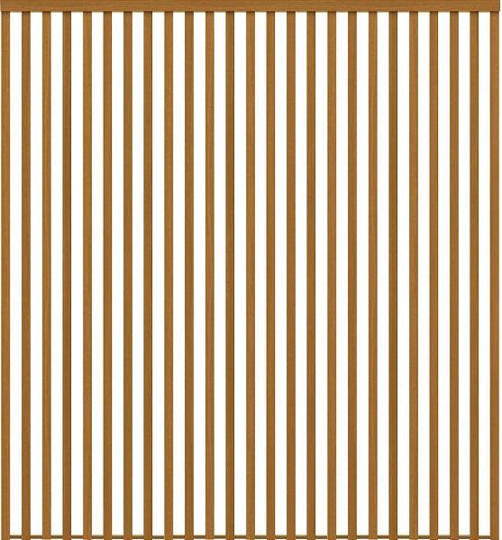 YKKAPアルミインテリア スクリーンパーティション[間仕切] 固定タイプ格子調デザイン(アルミ枠) 9尺 ラミネート:[幅1839mm×高1550~2142mm] YKK 室内イン