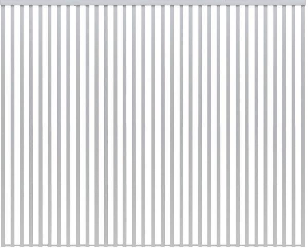 独特な店 YKKAPアルミインテリア 12尺 スクリーンパーティション[間仕切] 固定タイプ格子調デザイン(アルミ枠) 12尺 アルマイト:[幅3009mm×高2143~2442mm] YKK 室内イン, photolink:45084d7b --- eraamaderngo.in
