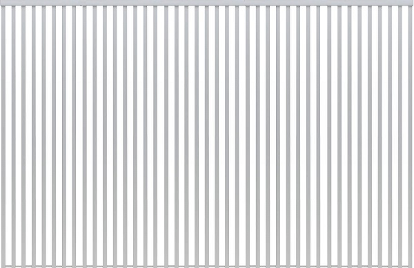 YKKAPアルミインテリア スクリーンパーティション[間仕切] 固定タイプ格子調デザイン(アルミ枠) 15尺 アルマイト:[幅4269mm×高2443~2732mm] YKK 室内イン