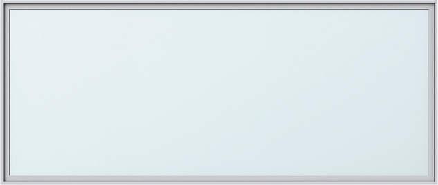 YKKAPアルミインテリア スクリーンパーティション[採光ユニット] 横スリットアクセントFIX窓(アルミ枠) 無目枠仕様:[幅1189~2100mm×高201~500mm]【YKK】【室内インテリア】【サッシ】【フィックス】【はめ殺し】【間仕切】【組立て完成品】【アルミ建材】【室内建材