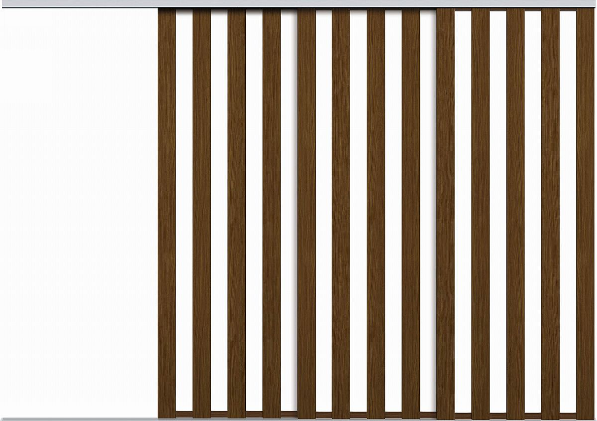 YKKAPアルミインテリア スクリーンパーティション 間仕切 片引き戸3枚建 アルミ枠 LAタイプ 幅2304~3454mm×高2143~2442mm YKK 室内インテリア サッシ 片引戸 室内引き戸 パーテーション パーテイション アルミ建具 バリアフ