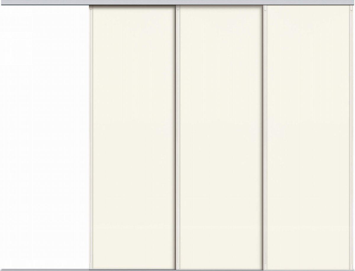 YKKAPアルミインテリア スクリーンパーティション[間仕切] 片引き戸3枚建(アルミ枠) P8タイプ:[幅3455~4000mm×高1550~2142mm]【YKK】【室内インテリア】【サッシ】【片引戸】【室内引き戸】【パーテーション】【パーテイション】【アルミ建具】【バリアフリー】