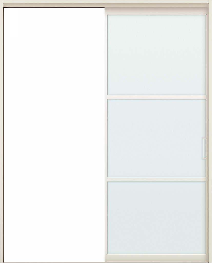 YKKAPアルミインテリア スクリーンパーティション[室内引戸] 片引き戸 NAタイプ ケーシング枠:[幅1188~2215mm×高1658~2458mm]