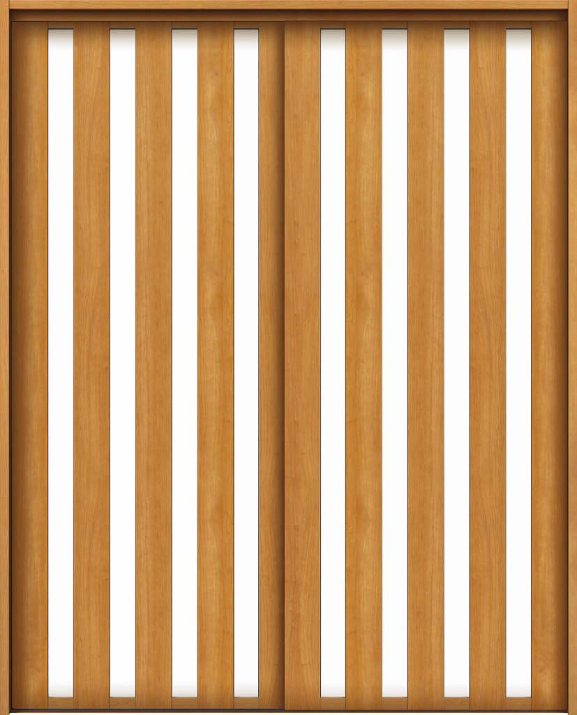 YKKAPアルミインテリア スクリーンパーティション[室内引戸] 引違い戸2枚建(木質枠) LAタイプ ノンケーシング枠:[幅1188~2215mm×高1658~2458mm]【YKK】【YKKパーティション】【YKKパーテーション】【パーテーション】【アルミパーティション】【アルミ引き戸】【室内