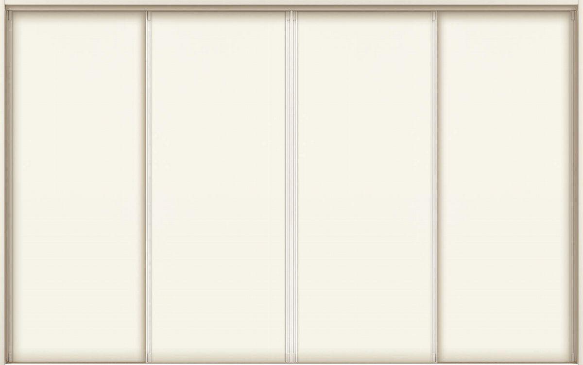 YKKAPアルミインテリア スクリーンパーティション[室内引戸] 引違い戸4枚建(木質枠) P8タイプ ノンケーシング枠:[幅2337~3925mm×高1658~2458mm]【YKK】【YKKパーティション】【YKKパーテーション】【パーテーション】【アルミパーティション】【アルミ引き戸】【室内