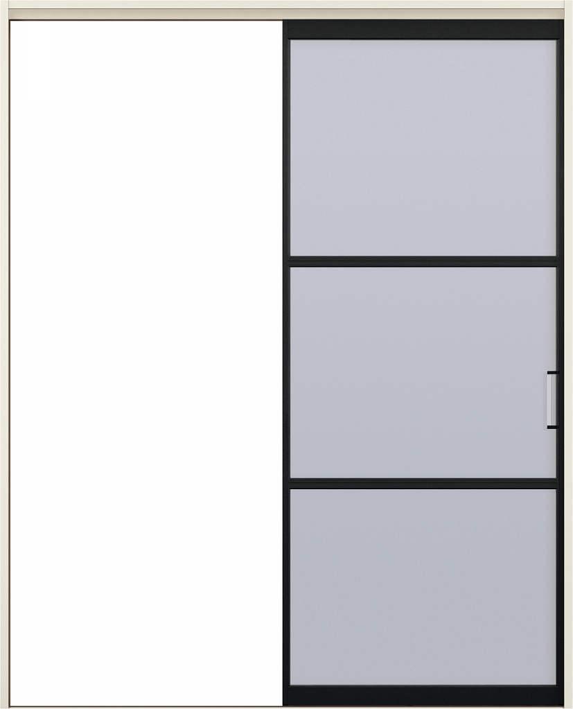 YKKAPアルミインテリア スクリーンパーティション[室内引戸] 片引き戸(木質枠) NAタイプ ノンケーシング枠:[幅1188~2215mm×高1658~2458mm]【YKK】【YKKパーティション】【YKKパーテーション】【パーテーション】【アルミパーティション】【アルミ引き戸】【室内引き