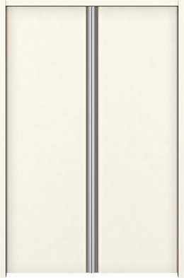 YKKAP収納 クローゼットドア 両開き戸 T30 ケーシング[三方枠]:[幅1188mm×高1833mm]