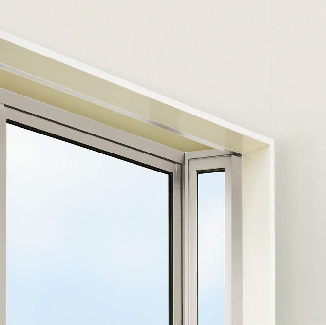 YKKAPオプション 窓サッシ 出窓 フレミングJ:アルミ額縁[3.5寸柱用]