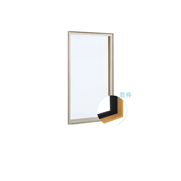 YKKAP窓サッシ 装飾窓 フレミングJ[単板ガラス][セット品] FIX窓:サッシ・窓枠セット[幅730mm×高1570mm]