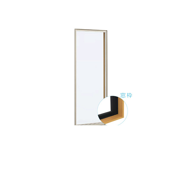 YKKAP窓サッシ 装飾窓 フレミングJ[単板ガラス][セット品] FIX窓:サッシ・窓枠セット[幅640mm×高1830mm]