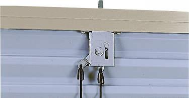 YKKAPオプション窓サッシ引き違い窓エピソード:上部錠