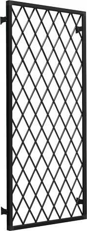 YKKAP窓サッシ オプション フレミングJ 面格子 ラチス格子[サッシ取付用]:(装飾窓用)[幅1235mm×高1370mm]