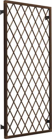 YKKAP窓サッシ オプション フレミングJ 面格子 ラチス格子[引き違い窓用]:[幅1370mm×高770mm]
