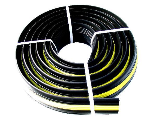 融雪器具・樹脂製杭 融雪用品 プロテクター:ケーブルプロテクター 30φ×8m 1本入り