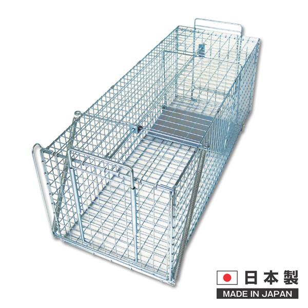動物捕獲器 保護器:780(踏板式) 290×290×780mm 1個入り【ネズミ】【鼠】【ねずみ】【イタチ】【クマ】【ハクビシン】【ネズミ取り】【ネズミ捕り】【取り籠】