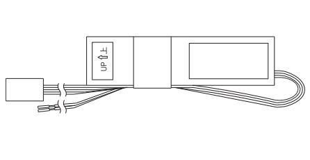 YKKAPオプション 玄関ドア スマートコントロールキー:2線変更アダプター