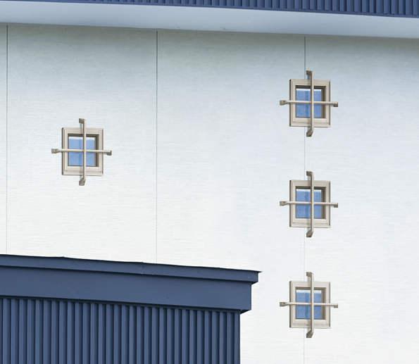 YKKAPオプション 窓サッシ ウィンスター エイピア:デザイン格子[モダン]