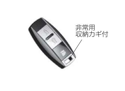 YKKAPオプション玄関ドアヴェナートスマートコントロールキー:追加用ポケットKey(非常用収納カギ付)