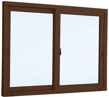 YKKAP窓サッシ 引き違い窓 エピソード[複層ガラス] 2枚建 半外付型:[幅640mm×高970mm]【アルミサッシ】【引違い窓】【断熱サッシ】【掃出し窓】【テラスマド】【高窓】