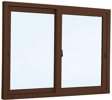 YKKAP窓サッシ 引き違い窓 エピソード[複層ガラス] 2枚建 外付型:[幅1862mm×高1353mm]【アルミサッシ】【引違い窓】【断熱サッシ】【掃出し窓】【テラスマド】【高窓】