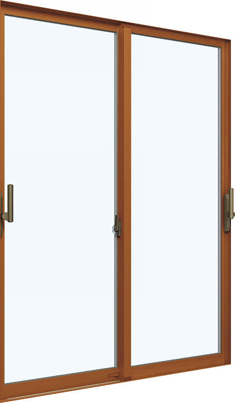 YKKAP窓サッシ 引き違い窓 エピソード[複層ガラス] 2枚建[下枠ノンレール] サポートハンドル[キックプレート無]:[幅1690mm×高2230mm]【YKK】【アルミサッシ】【引違い窓】【樹脂サッシ】【断熱サッシ】