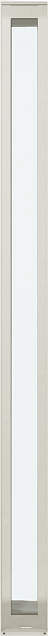 YKKAP窓サッシ 装飾窓 エピソード[複層ガラス] ウインスター たてスリットFIX窓:[幅200mm×高1870mm]【YKK】【樹脂サッシ】【断熱サッシ】【嵌殺し】【ハメ殺し】【ペアガラス】【滑り出し】【小窓】【飾り窓】【フィックス】【高断熱】