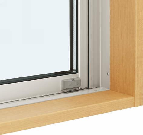 YKKAPオプション窓サッシ装飾窓エピソード:たてすべり出し窓用サブロック[グレモン仕様]