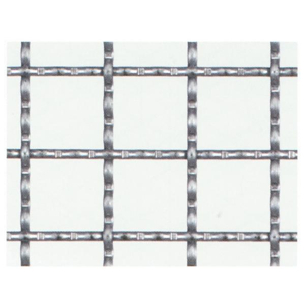 産業用金網 亜鉛引クリンプ金網:径2.0mm×15mm目 910mm×15m【亜鉛メッキ】