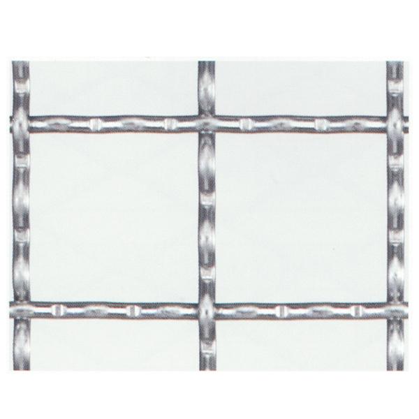 産業用金網 亜鉛引クリンプ金網:径2.6mm×25mm目 910mm×15m【亜鉛メッキ】