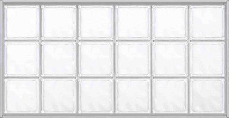 YKKAPアルミインテリア スクリーンパーティション[採光ユニット] アクリルブロックFIX(アルミ枠) 呼称幅100(幅1008mm)ブロック横6列:[幅1008mm×高564mm]【YKK】【室内インテリア】【サッシ】【パーテーション】【パーテイション】【ガラスブロック】【間仕切】【145ミ